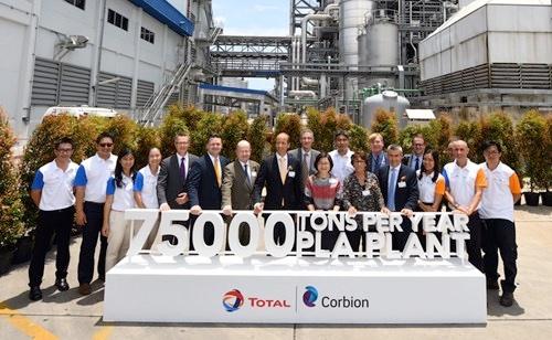 inaugurazione impianto total corbion PLA