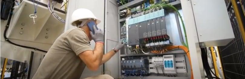Bandera Siemens remote commissioning