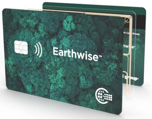 CPI Earthwise carte credito rPETG