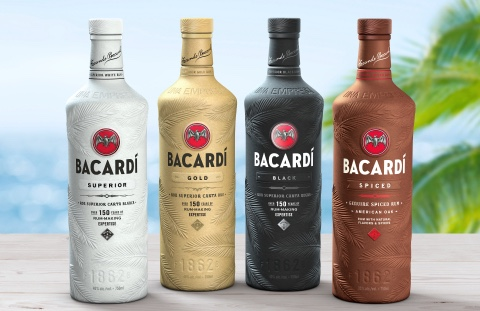 Bacardi bottiglie