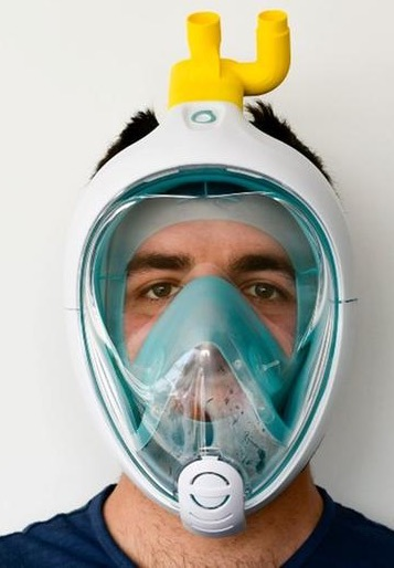 isinova adattatore maschera sub facciale