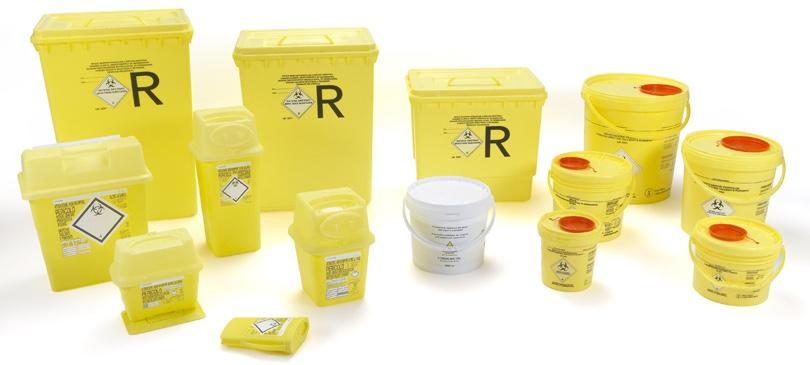 isi plast contenitori rifiuti ospedalieri