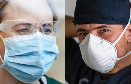 mascherine chirurgiche e protettive