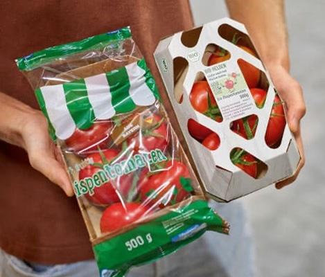 Mondi packaging pomodori