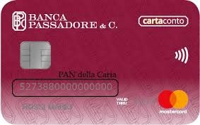 carta credito Banca Passadore