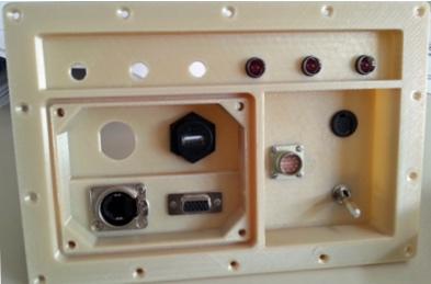 telescopio involucro 3D Ultem