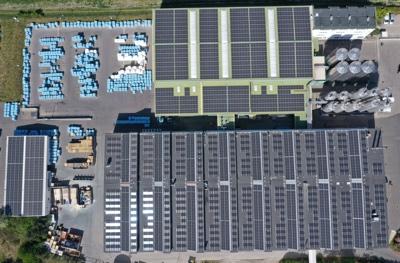 Gabriel Chemie parco fotovoltaico