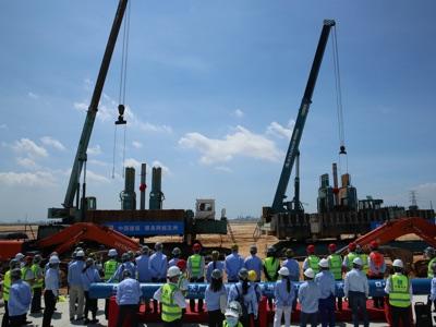 BASF Cina palificazione