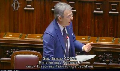 Sergio Costa question Time alla camera