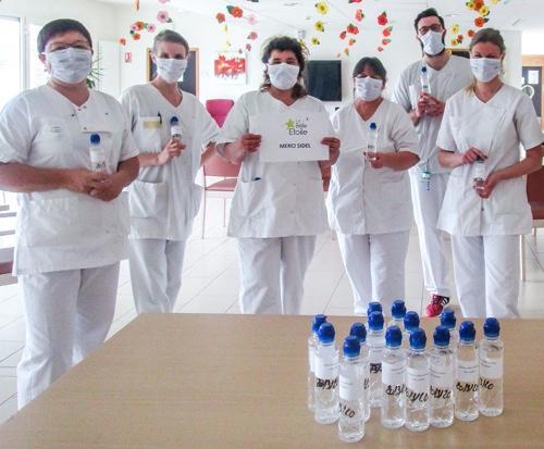 Sidel produzione bottiglie disinfettanti