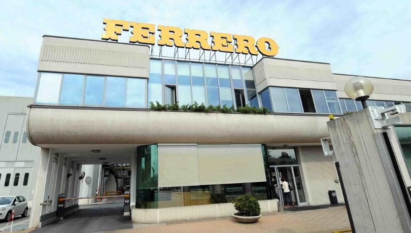 Ferrero stabilimento Alba