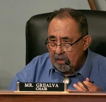 Raúl M. Grijalva presidente del comitato Natural Resources Congresso USA