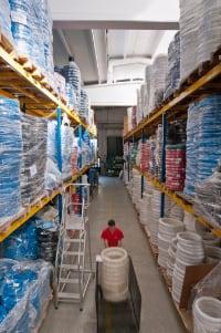 Mebra Plastik Italia magazzino