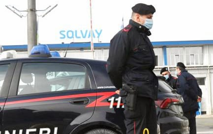 Carabinieri Solvay