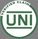 uni verified claim