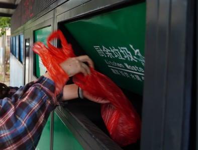 Cina rifiuti differenziata
