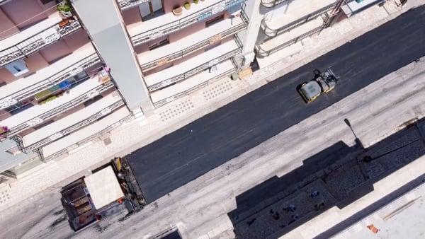 ecopneus Alcamo asfalto con PFU