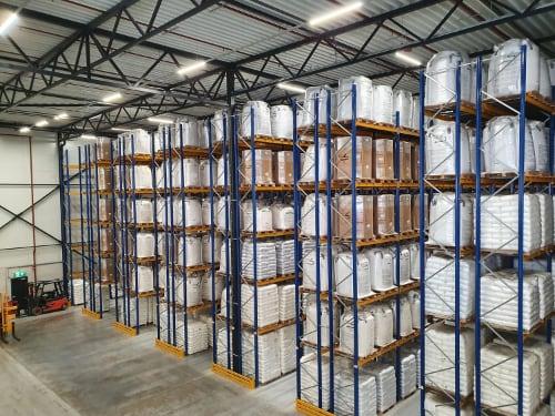 Braskem deposito Polymer Hub Rotterdam