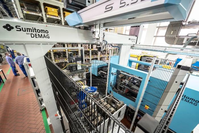 isola stampaggio per test BASF