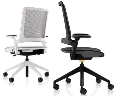 sedia ufficio poliammide riciclata