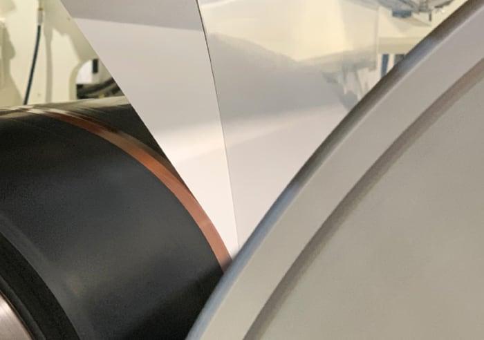 carta rivestita PLA