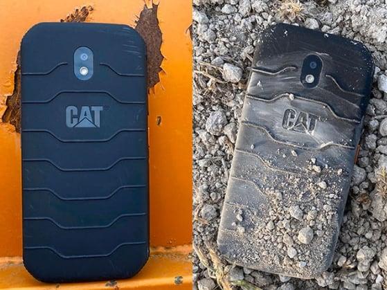 telefono CAT S42 con biomaster di addmaster