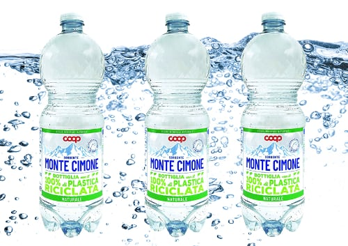 Coop bottiglia acqua minerale