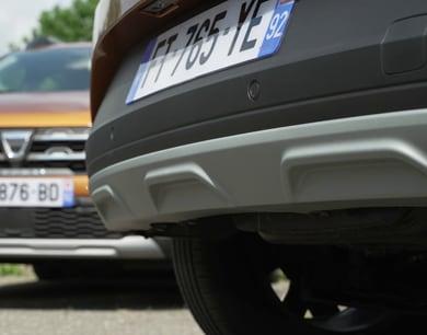 Dacia ski protezione in PP