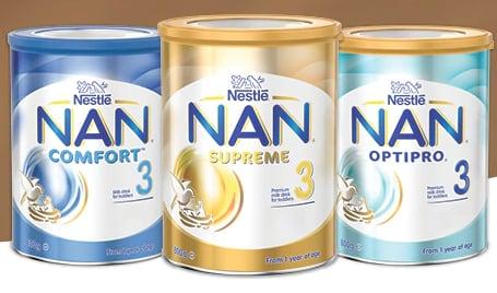latte Nestlè NAN