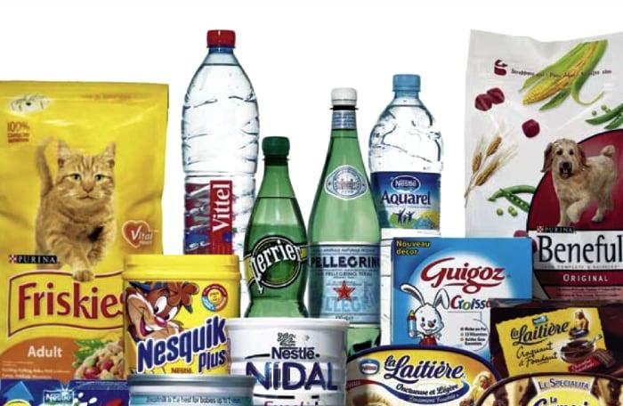 Nestlé prodotti Europa