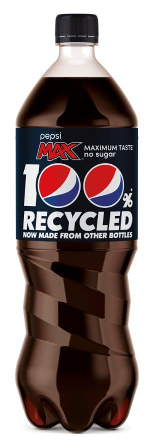 Pepsi Max PET riciclato