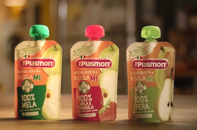 Plasmon pouches Gualapack
