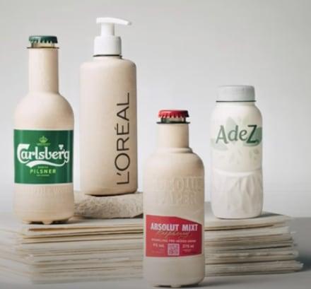 Paboco paper bottle