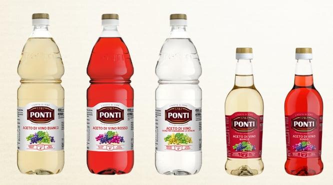bottiglie PET Ponti