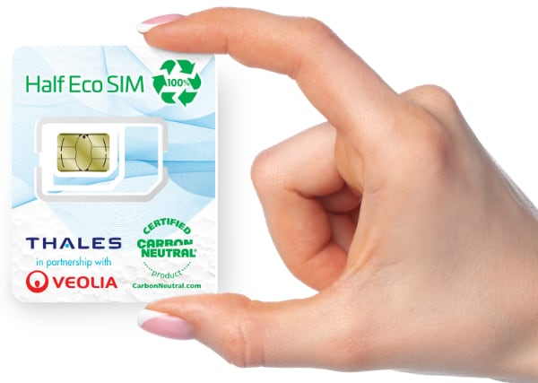 SIM card da riciclo