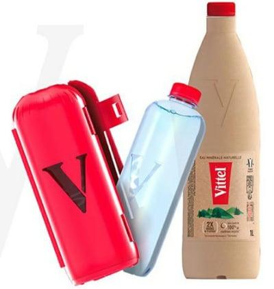 vittel eco packaging