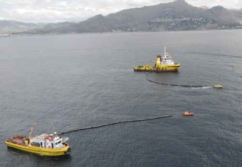 Castalia raccolta rifiuti plastici mare