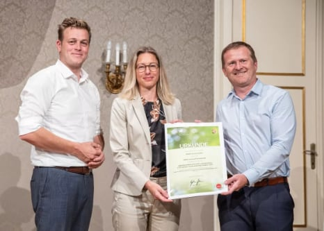 Engel riceve l'Upper Austrian Environmental Award 2021