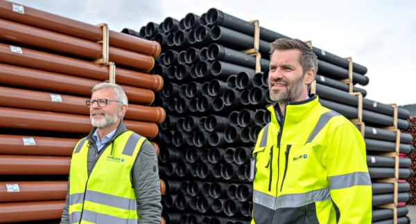 pipelife inovyn tubi in PVC bio-attribuito