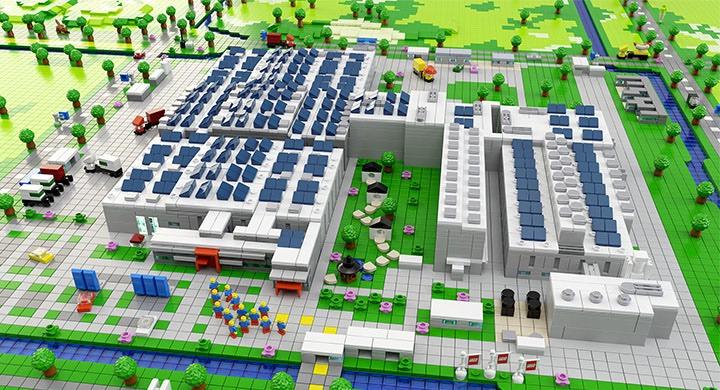 Lego fabbrica