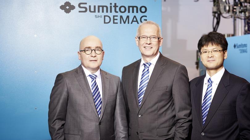 Nuovo vertice Sumito SHI Demag