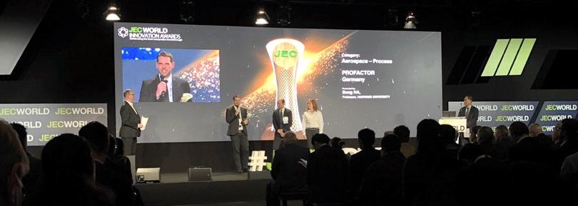 Premiazione JEC Innovation Awards