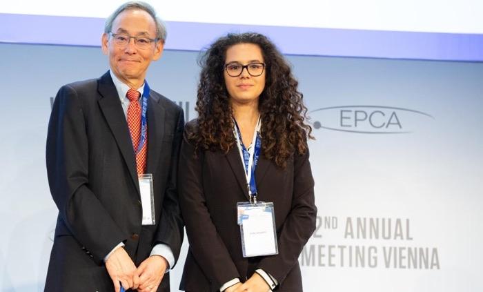 Steven Chu con Giulia Dargenio