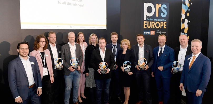 premiazione Plastics Recycling Awards Europe