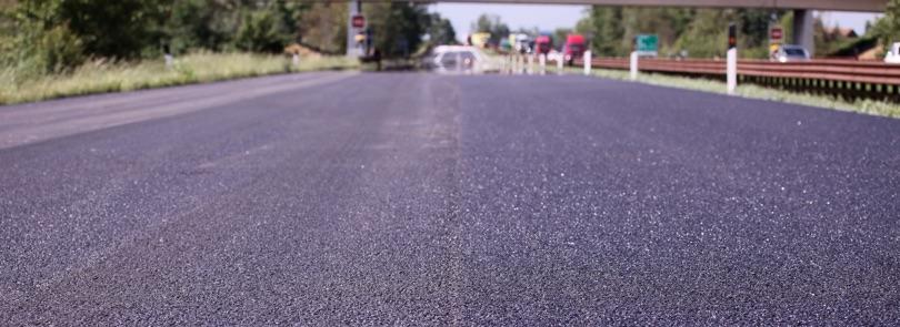 asfalto con bitume modificato