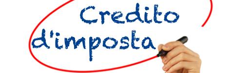 Risultati immagini per credito imposta
