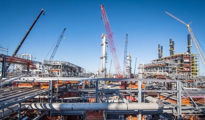 CB&I costruzione impianto etilene