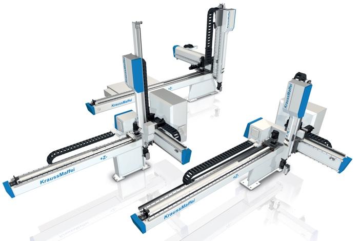 robot LRX KraussMaffei