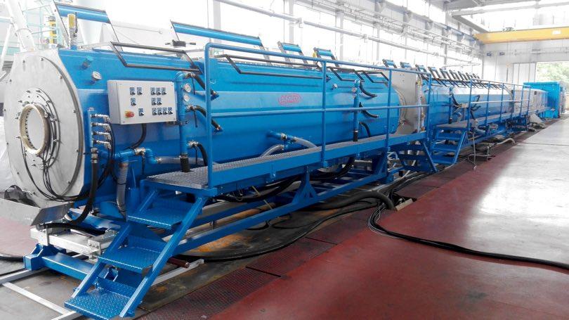 Amut piazza linea per tubi in pp e fibra vetro for Materiale del tubo della linea d acqua