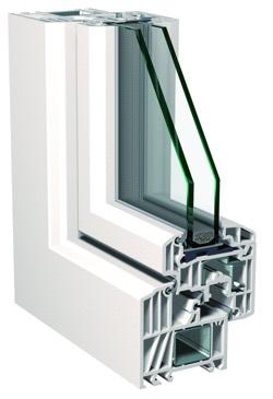 Profilo finestra in PVC